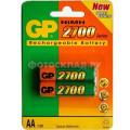 Аккумулятор GP AA 2700mAh, 2 шт.