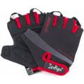 Перчатки вело мужские Indigo L Черно-красный