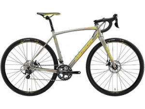 Велосипед Merida CycloCross 400 Silk Titan (Yellow/Red) 2018 S-M(52см)(18541)
