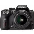 Зеркальный фотоаппарат PENTAX K-70 + объектив DA L 18-50 WR черный