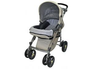 BabyLux 207B - прогулочная коляска бежевая