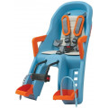 Велокресло детское Polisport Guppy Mini FF Blue/Orange PLS8639400010