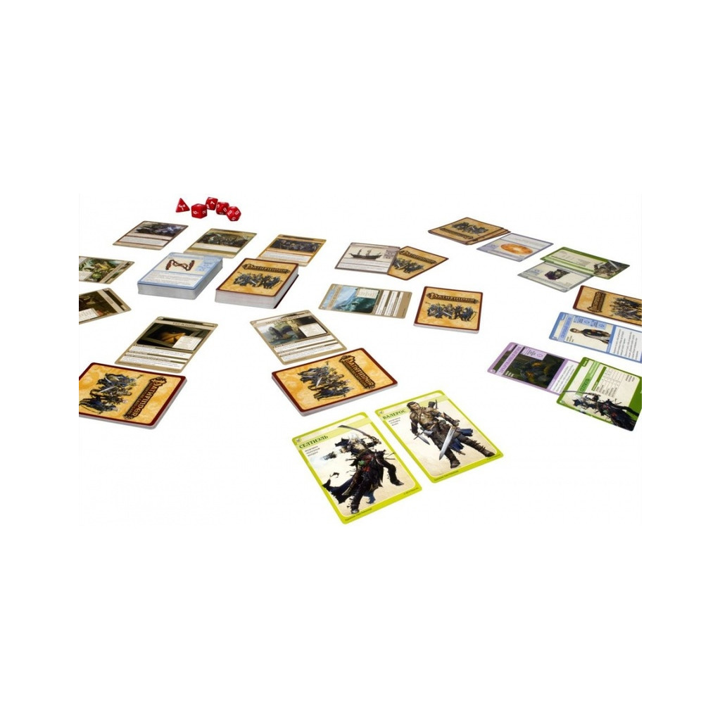 """Настольная игра Hobby World Pathfinder. Череп и Кандалы. 1 + Мятеж на """"Полыни"""" (дополнение)"""