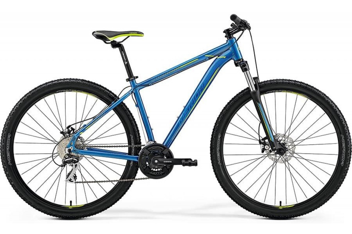"Велосипед Merida Big Nine 20-MD Blue/Blue/Green 2019 S(15"")(34086)"