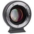 Адаптер Viltrox NF-M43X с Nikon F на Micro 4/3 0.71х (спидбустер)