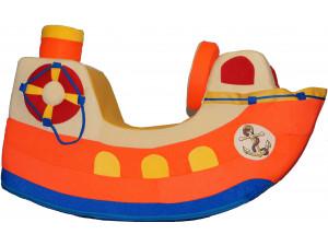 Детская качалка  PAREMO Кораблик оранжевый PCR818-03