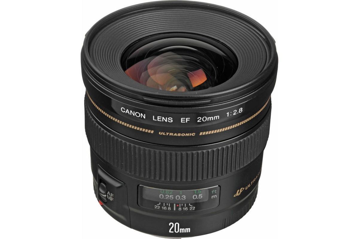Canon EF 20mm f/2.8 USM X0554