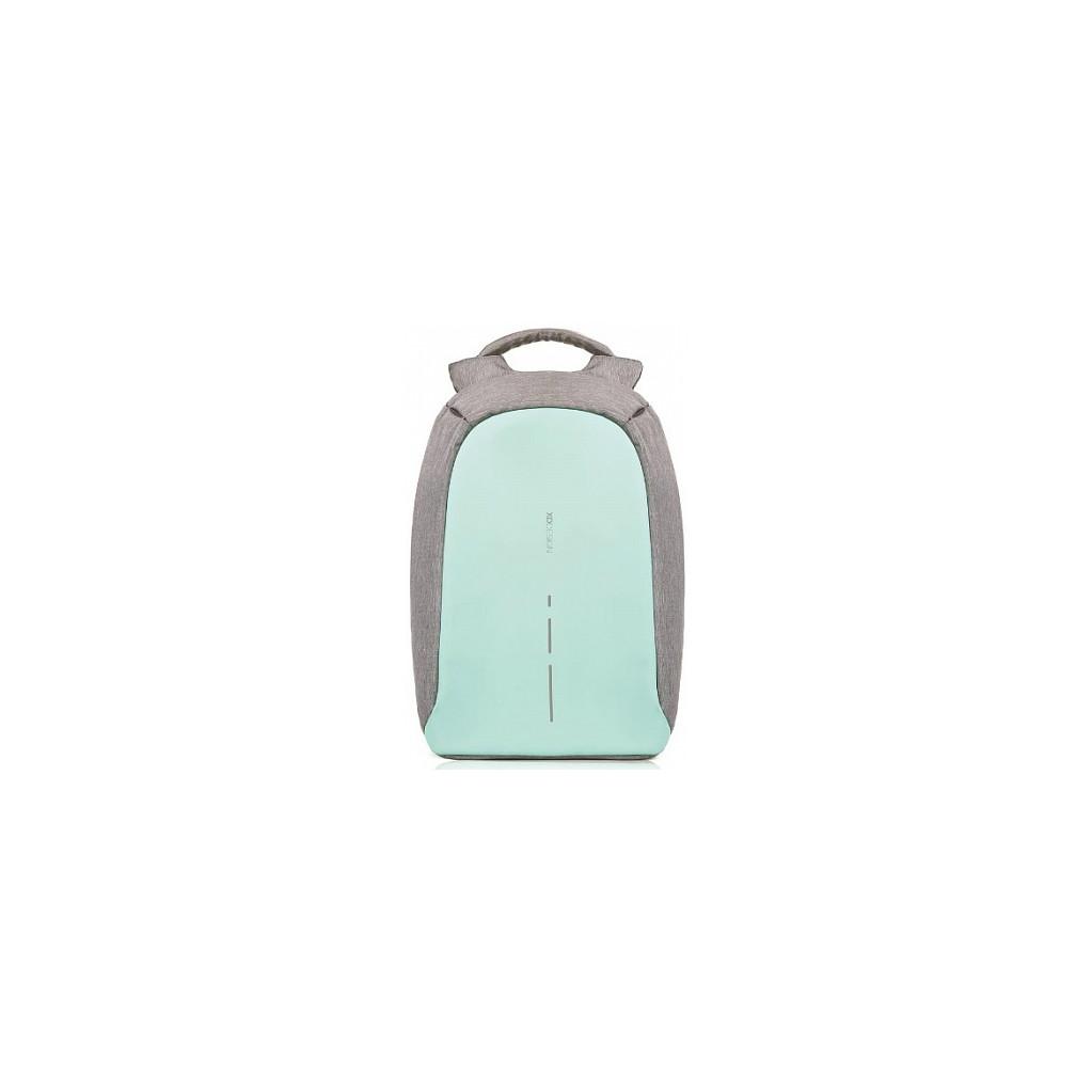 """Рюкзак для ноутбука до 14"""" XD Design Bobby Compact, серый / бирюзовый"""