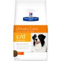 Корм для собак для профилактики МКБ струвиты Hill's Prescription Diet C/D, курица, 2 кг