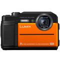 Цифровой фотоаппарат Panasonic Lumix DC-FT7E оранжевый