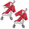 Maclaren Quest коляска-трость cardinal/silver WM1Y040071