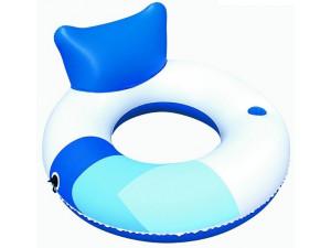 Bestway Надувной шезлонг для отдыха на воде 43087