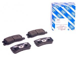Колодки тормозные задние VK TECHNOLOGY VT 32061 для MITSUBISHI Outlander all/Galant/Pajero+PSA C-Cross