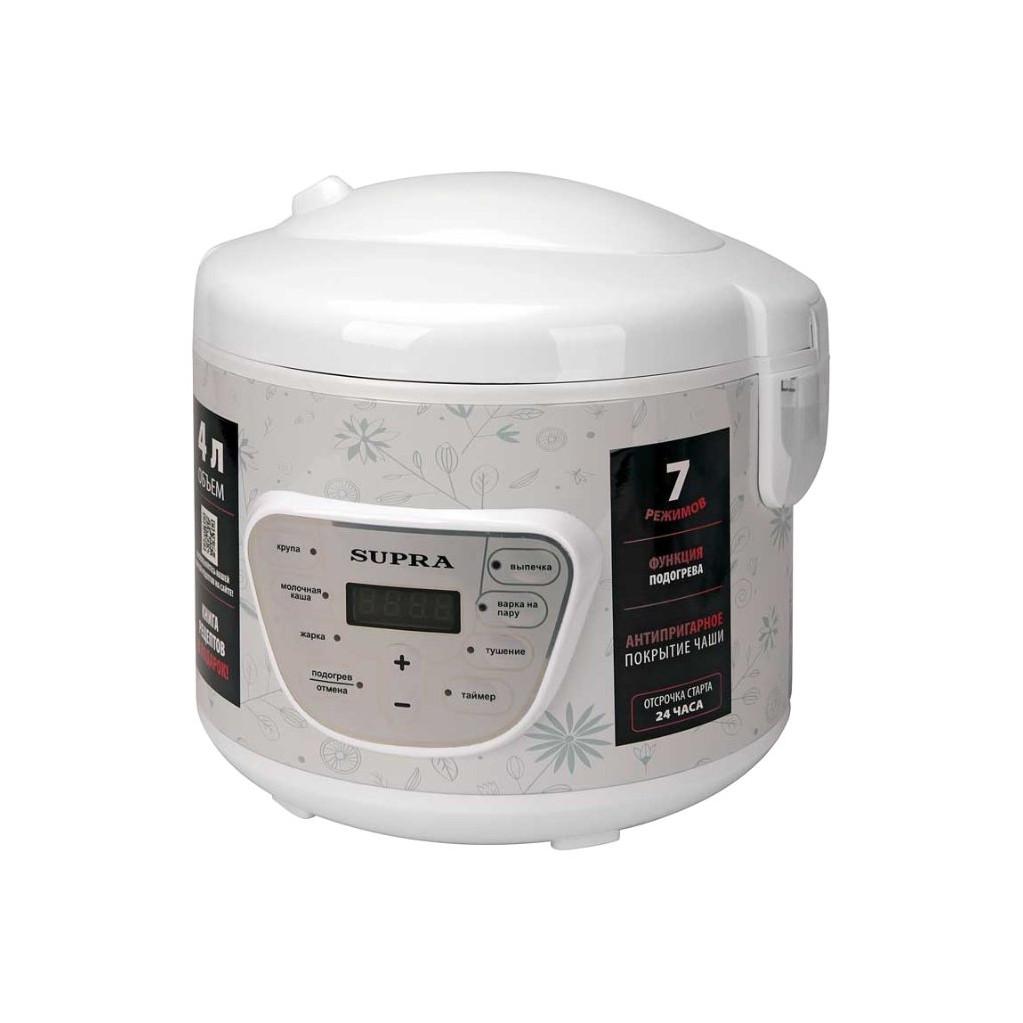 Мультиварка Supra MCS-4704 4л 900Вт белый