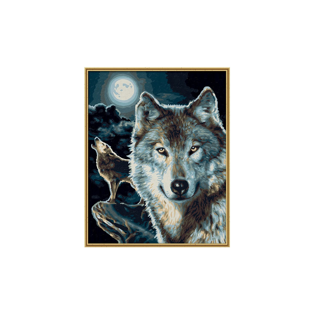 Schipper Волки раскраска по номерам, 24х30 см