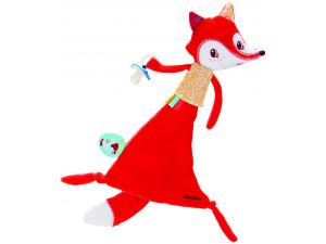 Lilliputiens Игрушка Лиса Алиса с держателем для пустышки
