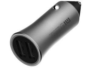 АЗУ Xiaomi Car Charger Fast Charge Version 18W (CC05ZM) серебристый