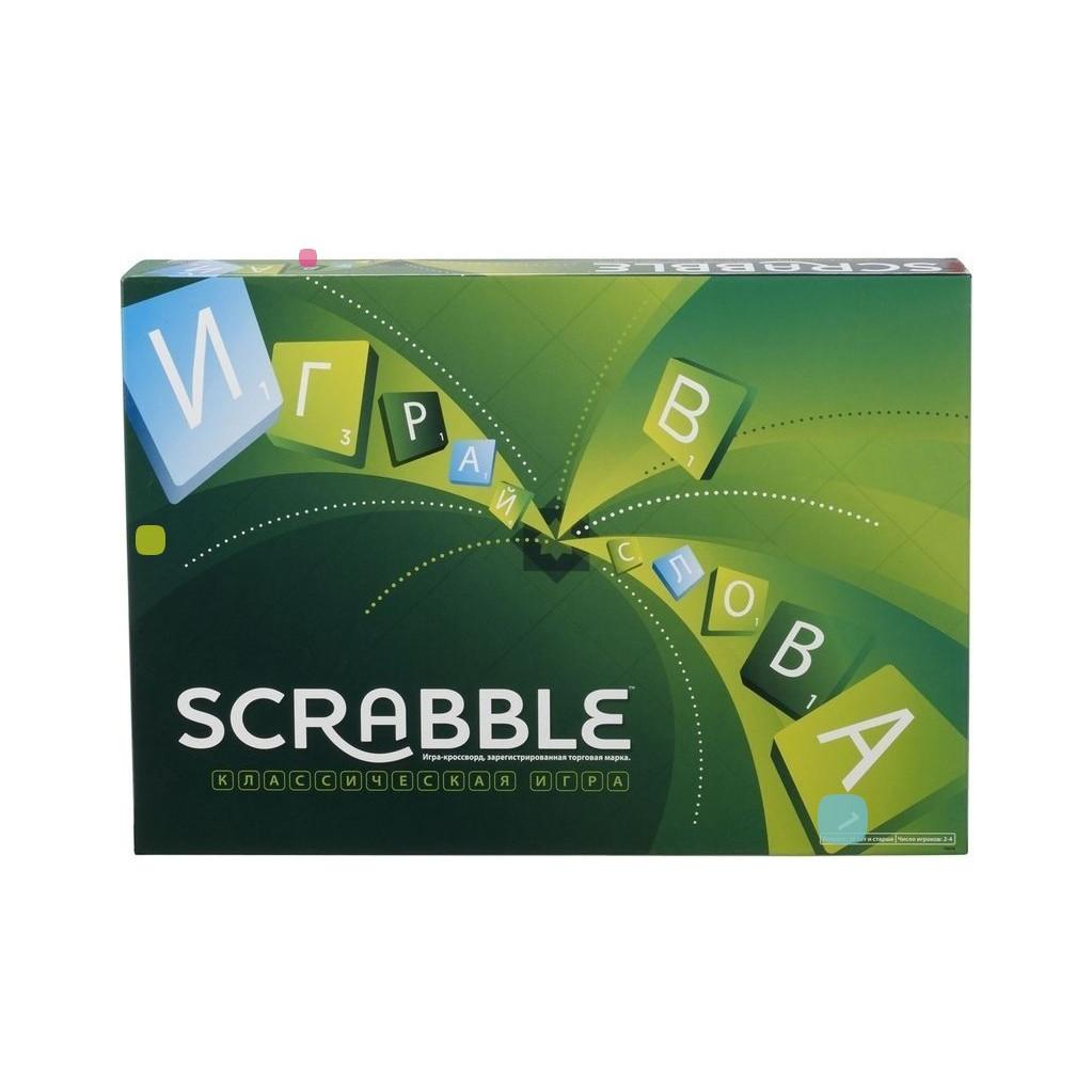 Scrabble классический настольная игра Mattel Y9618