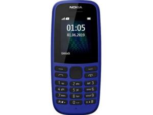 Мобильный телефон Nokia 105 Single Sim (2019) без з/у Синий