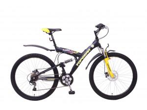 Top Gear Neon 225 - подростковый горный велосипед черно-желтый