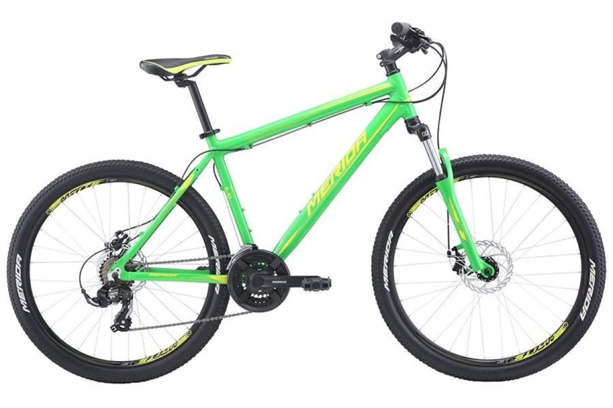 "Велосипед Merida Matts 6.10-MD Green/LiteGreen 2019 M(18"")(33577)"