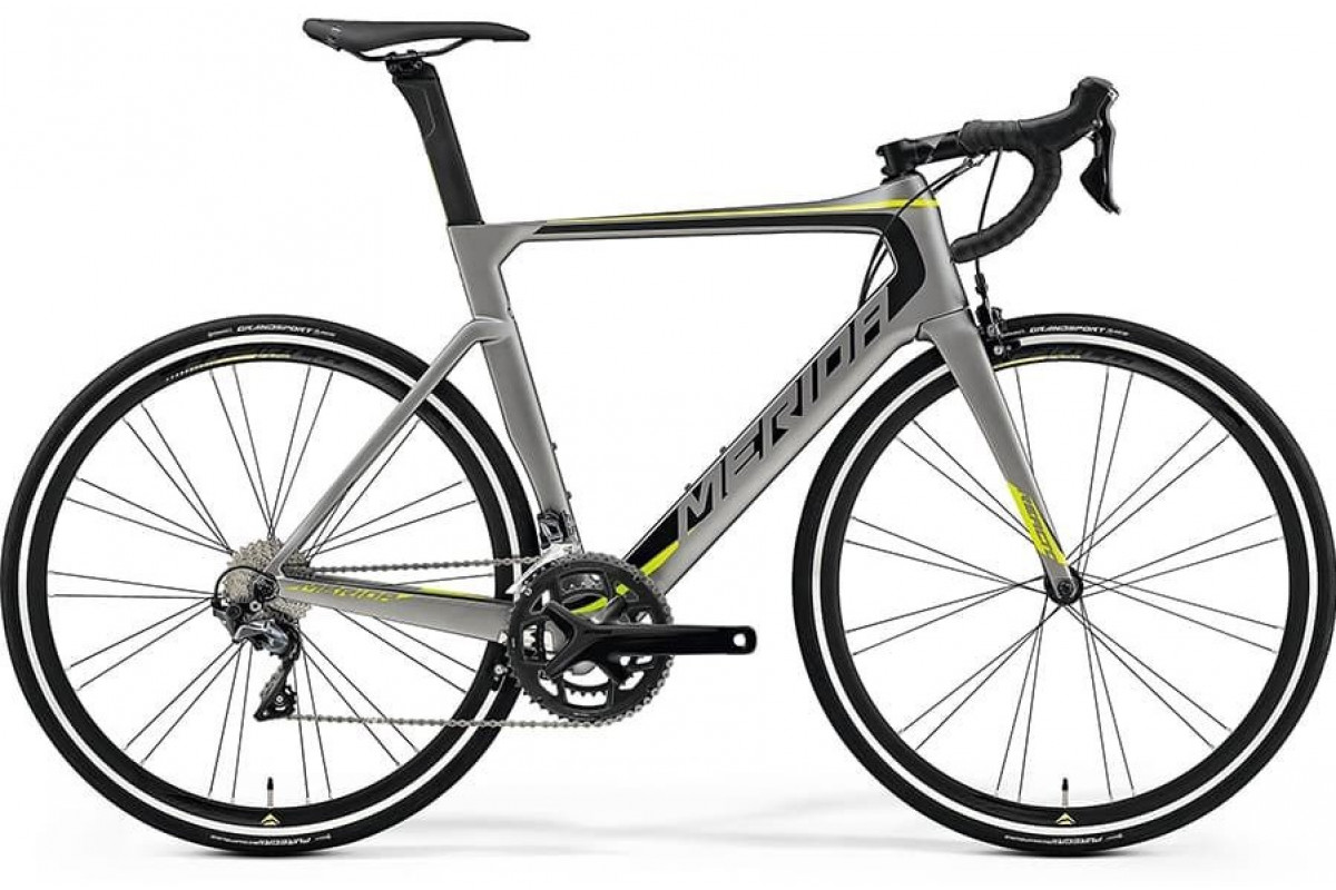 Велосипед Merida REACTO 5000 MattMetallicGrey/Black/Green 2019 L(56cm)(70680)