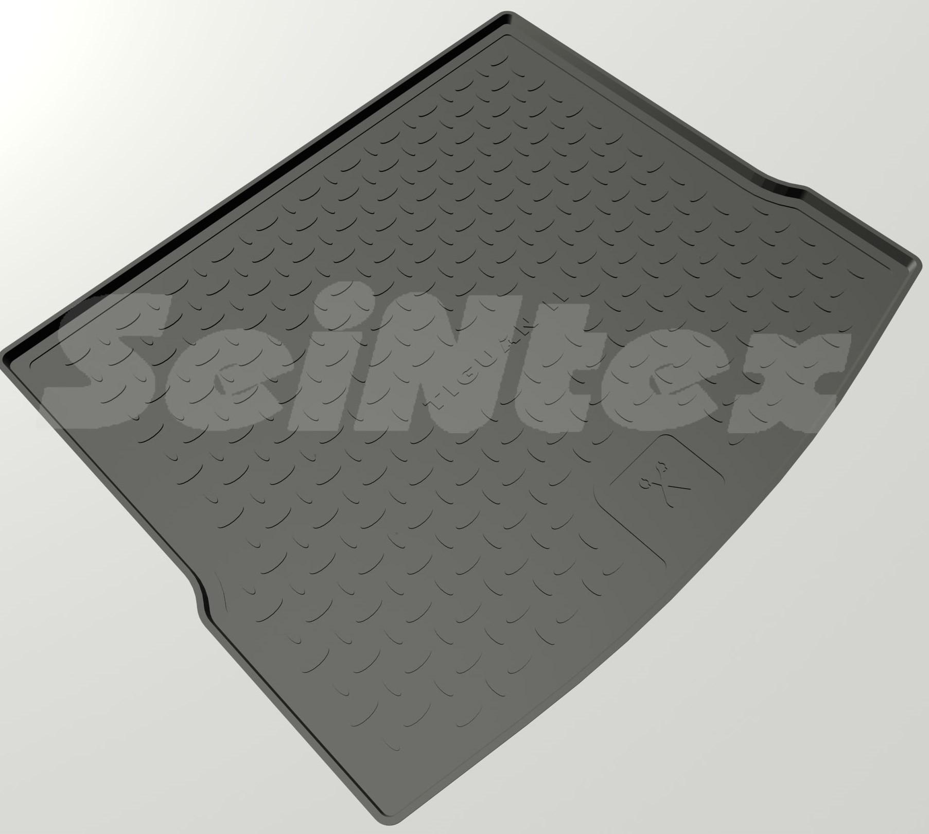 Коврик в багажник Seintex для  VW TIGUAN II (полимерн.), 88249