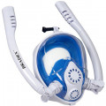Полнолицевая маска для снорклинга с двумя трубками, BRADEX L SF 0554