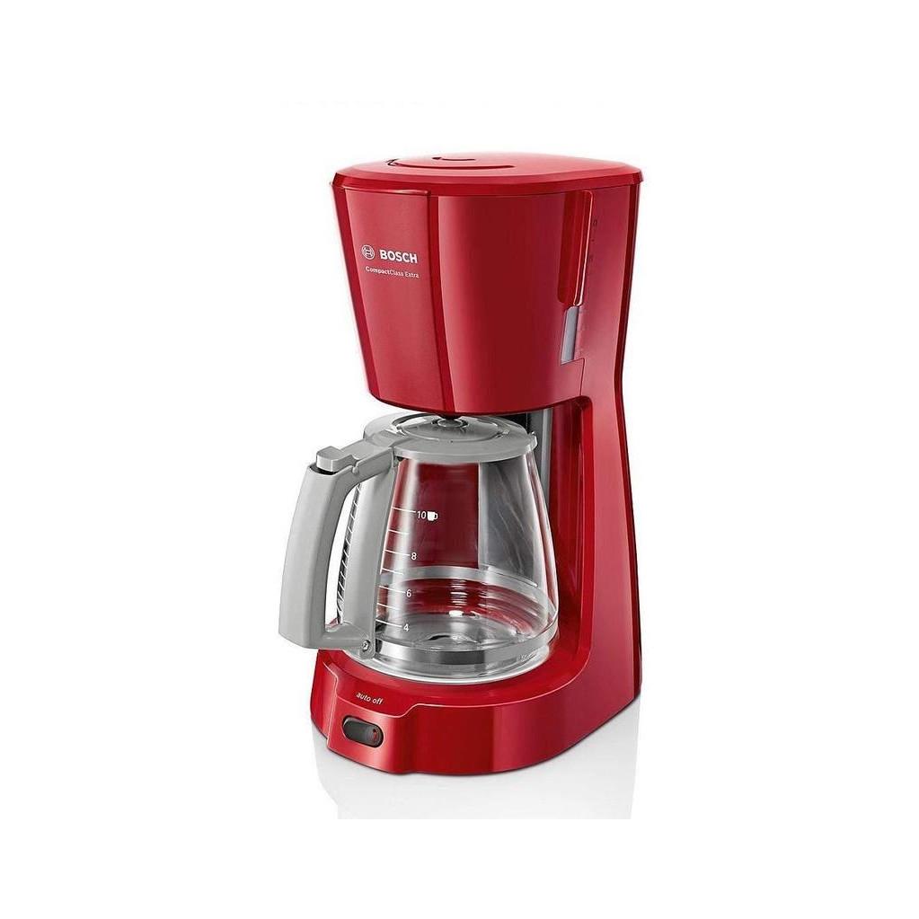 Кофеварка капельная Bosch TKA3A034 1100Вт красный