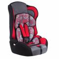 BamBola Primo - детское автокресло 9-36 кг одуванчик темно-серо-красный