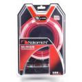 Набор проводов Nakamichi  NK-WK210 для подкл. 4х кан. усилителя 10Ga, ССА, блистер