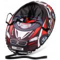 Small Rider Snow Cars 3 - надувные санки-тюбинг с сиденьем и ремнями (ВМ черно-красный)
