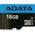 Карта памяти Adata microSDHC Premier Class 10 UHS-I U1 (30/10MB/s) 16GB + ADP