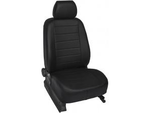 """Авточехлы Rival """"Строчка"""" (спинка цельная) для сидений Lada Largus универсал, Cross (5 мест) 2012-, эко-кожа, SC.6006.1"""