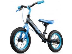 Small Rider Ranger 2 - беговел с надувными колесами и тормозом Neon, синий