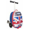 "Zinc Самокат-чемодан UNION JACK JOURNEYS 15"" ZC04099"