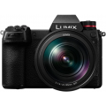 Фотоаппарат Panasonic Lumix DC-S1ME-K kit LUMIX S 24-105 мм F4 MACRO O.I.S. черный