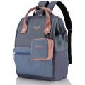 """Рюкзак Himawari HW-H2268, синий/розовый, 14"""""""