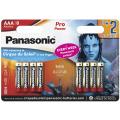 Батарейки Panasonic LR03XEG/8B2F AAA щелочные Pro Power promo pack в блистере 8шт