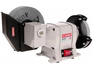 Станок точильный, ЗУБР ЗТШМ-150/200У, диски 150х20х32 мм/200х40х32 мм, 134 об/мин, 350 Вт
