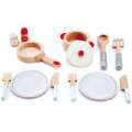 Игровой набор посуды 13 предметов HAPE