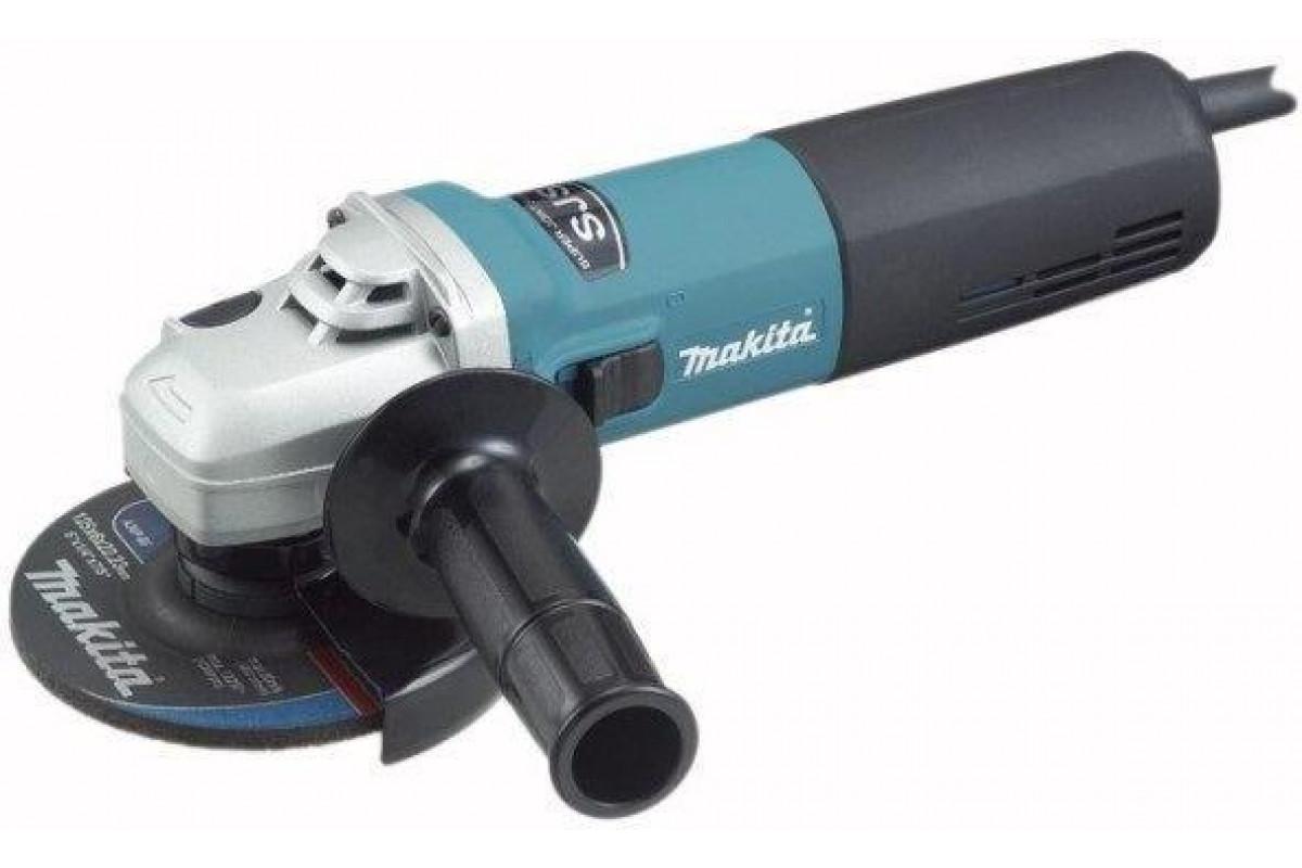 Углошлифовальная машина Makita 9565HZ 1100Вт 11000об/мин рез.шпин.:M14 d=125мм
