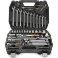 Набор инструментов Kraft КТ 700304  1/2''DR и 1/4''DR 77 пр.
