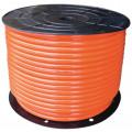 Шланг спиральный для пневмоинструмента Wiederkraft WDK-65712  прямой ПУ 8х12 катушка 100м