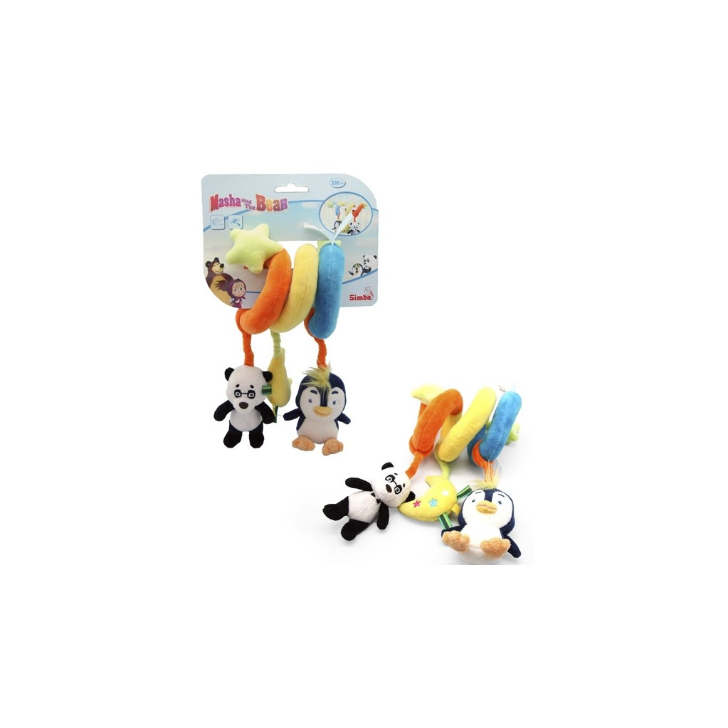 Simba Маша и Медведь Мягкая подвеска-игрушка
