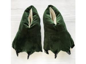 Тапки-лапки BearWear 39-42 зеленые