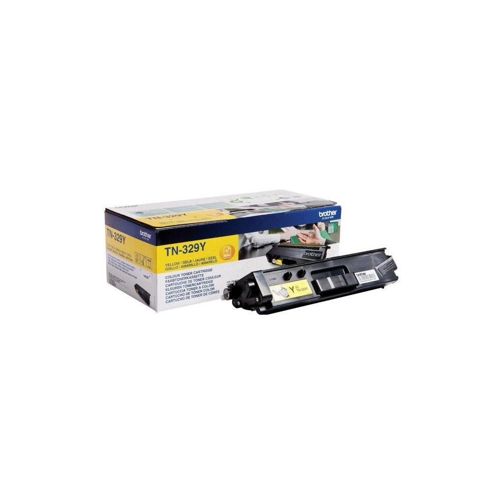 Тонер-картридж Brother TN900Y для HL-L9200CDWT, MFC-L9550CDWT жёлтый сверхвысокой ёмкости (6000 стр)