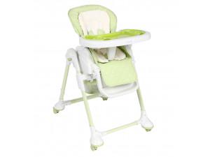 Capella S-208 - стульчик для кормления с функцией качалки (зеленый)