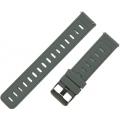 Ремешок силиконовый 22мм для Amazfit GTR47мм/ Pace/ Stratos/ Stratos+/ Stratos3, серый