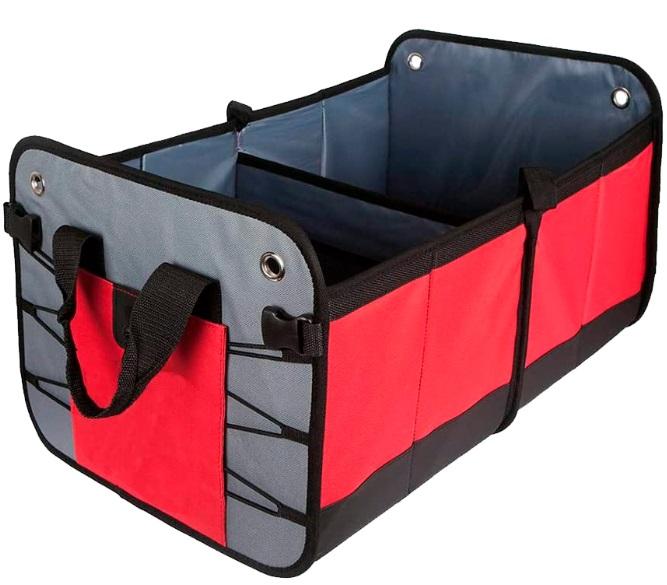 Автомобильный органайзер RoadLike Trunk Красный